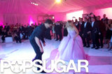 Ryan Sweeting and Kaley Cuoco busted some moves to celebrate their marriage and ring in 2014.