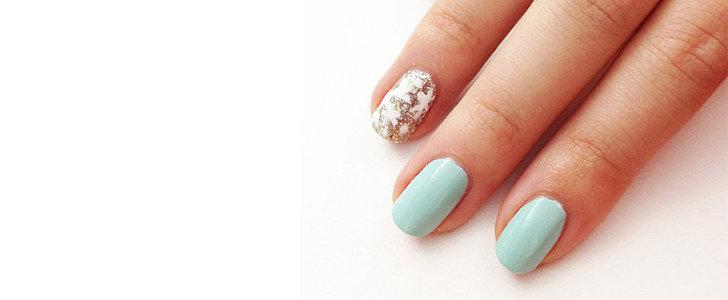 An Easy Winter Nail Art Idea Even Beginners Can Do