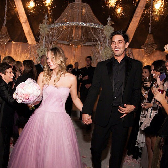 Ryan Sweeting and Kaley Cuoco's New Year's Eve affair was all over Instagram. Source: Instagram user ryansweething