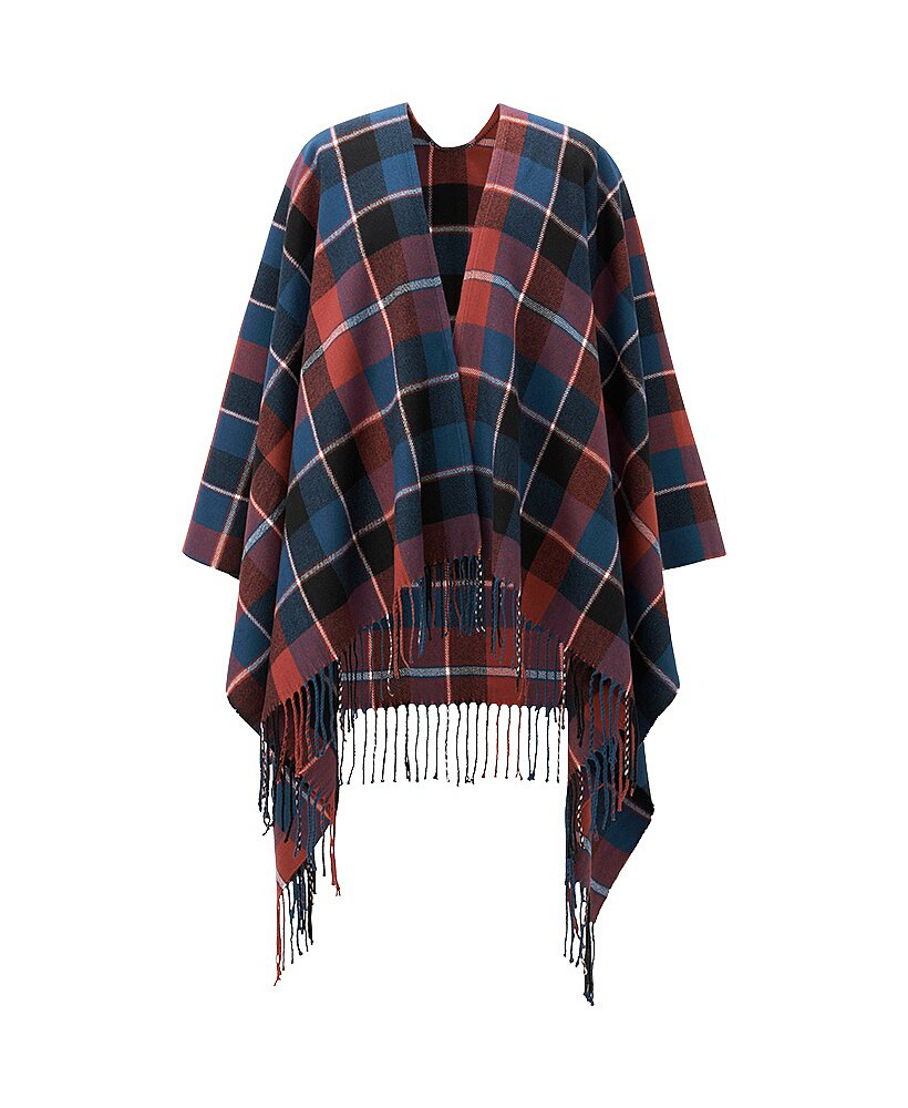 Uniqlo 2Way Plaid Stole Scarf