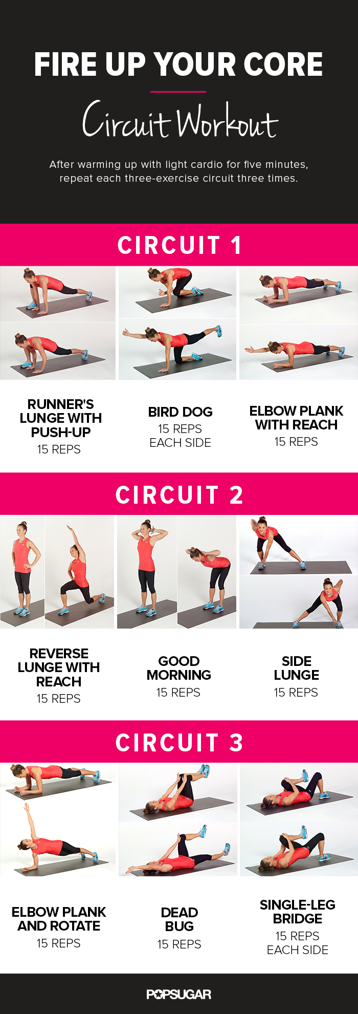 Printable Core Workout...