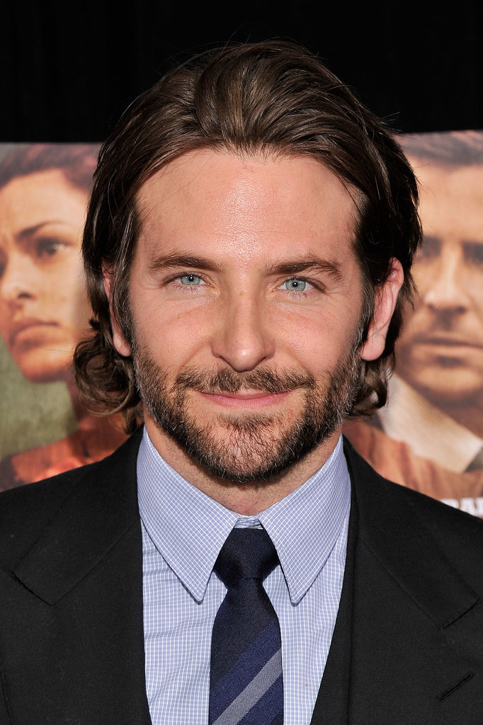 Bradley boasted longer locks and facial hair at the NYC premiere of The Place Beyond the Pines in March 2013.