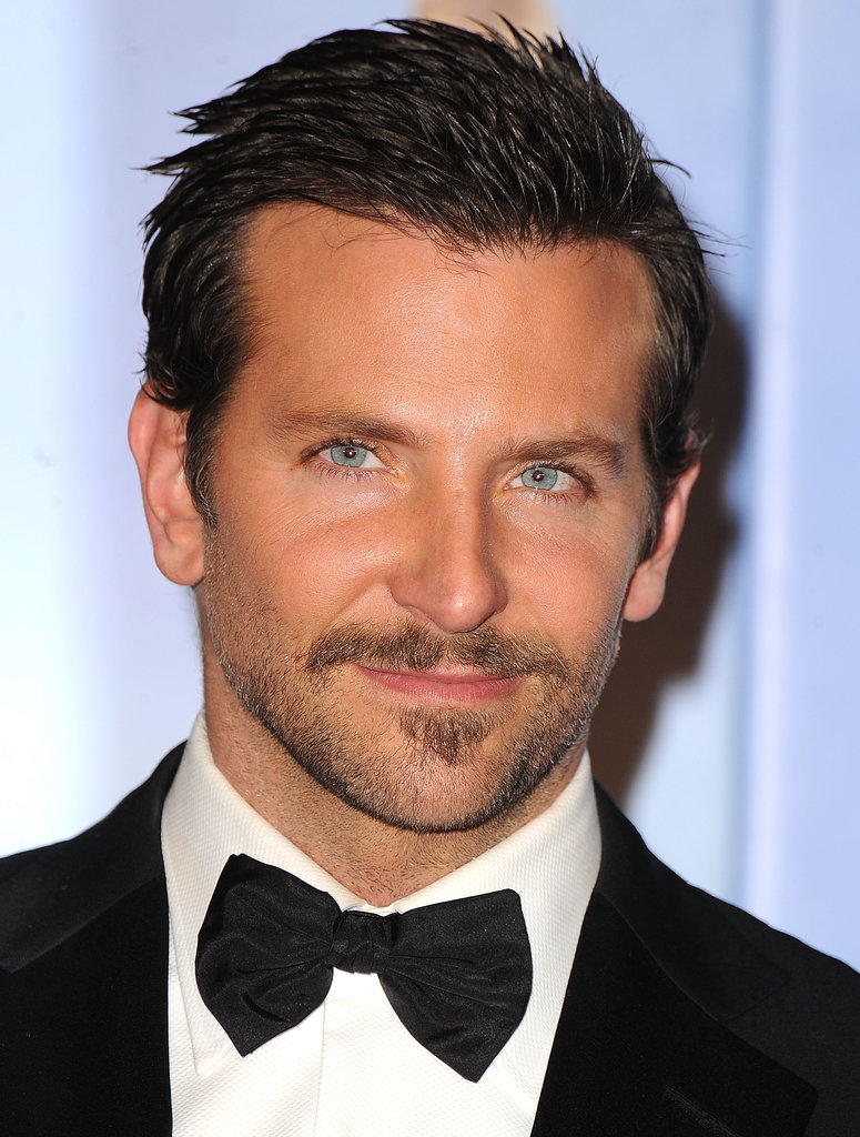A little 'stache never hurt anybody — Bradley boasted some new facial hair at the Golden Globes in January 2012.