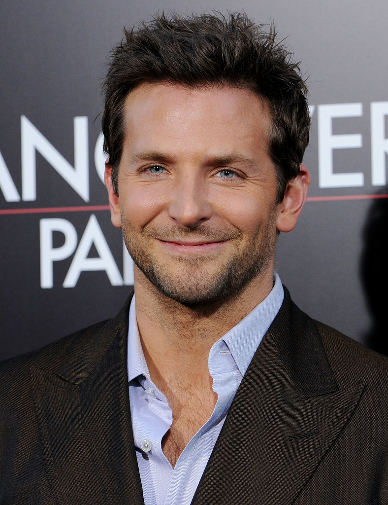 Bradley's blue eyes were on display at the Hollywood premiere of The Hangover Part II in May 2011.