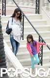 Katie Holmes and Suri Cruise were out and about in Miami on Saturday.