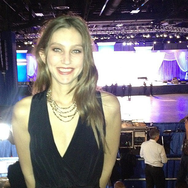At the Inaugural Ball.