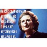 Margaret Thatcher died at 87. RIP to the first, and so far only, female British prime minister.