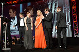 The cast of American Hustle was honoured with the ensemble performance award.