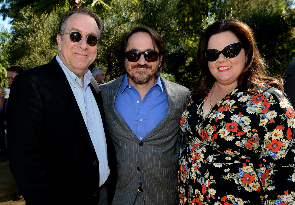 Melissa and Ben buddied up with Steve Gaydos, the executive editor of Variety.