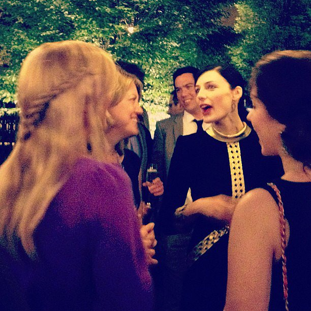 Spotted: Jessica Pare chatting with Elin Nordegren at the White House Correspondents' Dinner.
