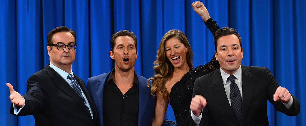 Gisele Returns to Late Night For Some Flip Cup Fun