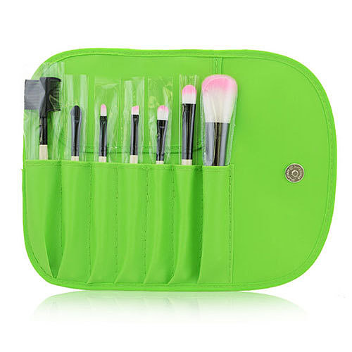 Professional Cosmetic Makeup Brush Set with Red Bag