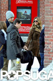 Gisele Bündchen and Tom Brady explored snowy Boston with friends.