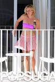Reese stepped onto her hotel balcony.