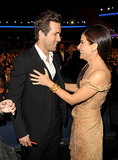 The undeniable chemistry between Sandra Bullock and Ryan Reynolds in 2010.