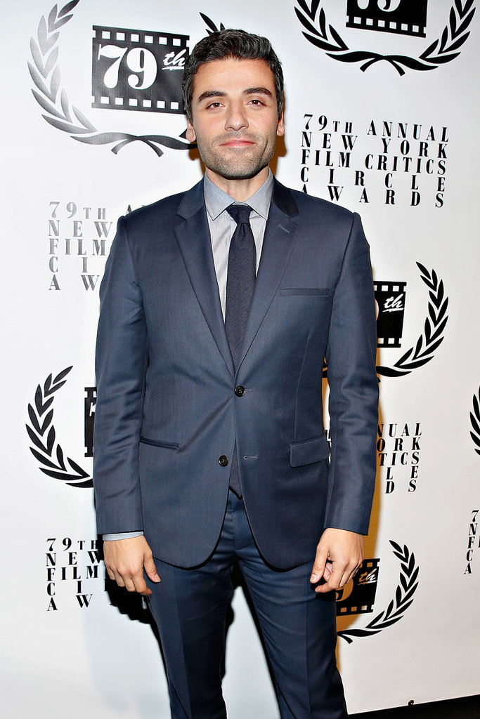 Inside Llewyn Davis's Oscar Isaac looked good in blue.