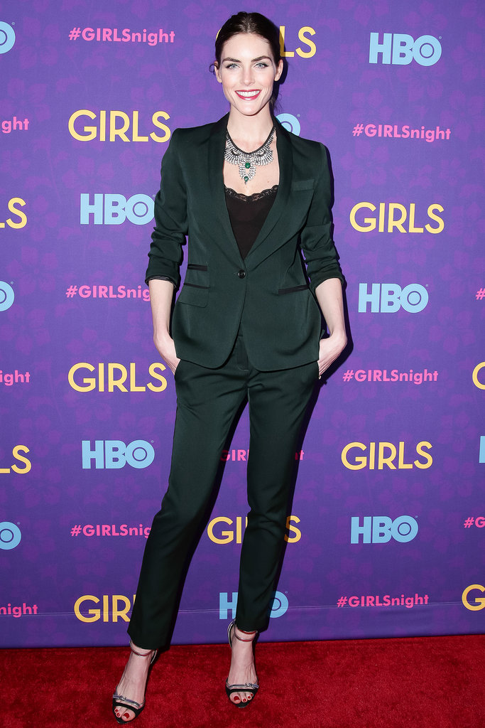 Hilary Rhoda at the Girls premiere.
