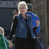 Gwen Stefani's Denim Vest Outfit | Video