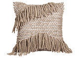 We're digging the funky fringe on this Decorative Woven Pillow ($35).