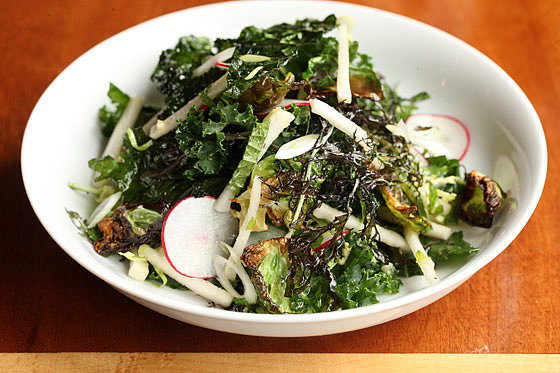 Crispy Kale Salad, Battersby, New York