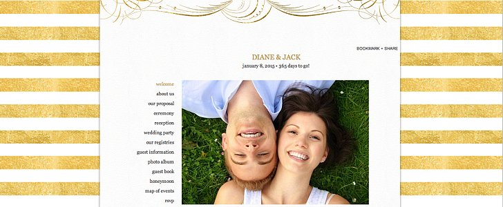 Anything but Average: How to Create a Stunning Wedding Site
