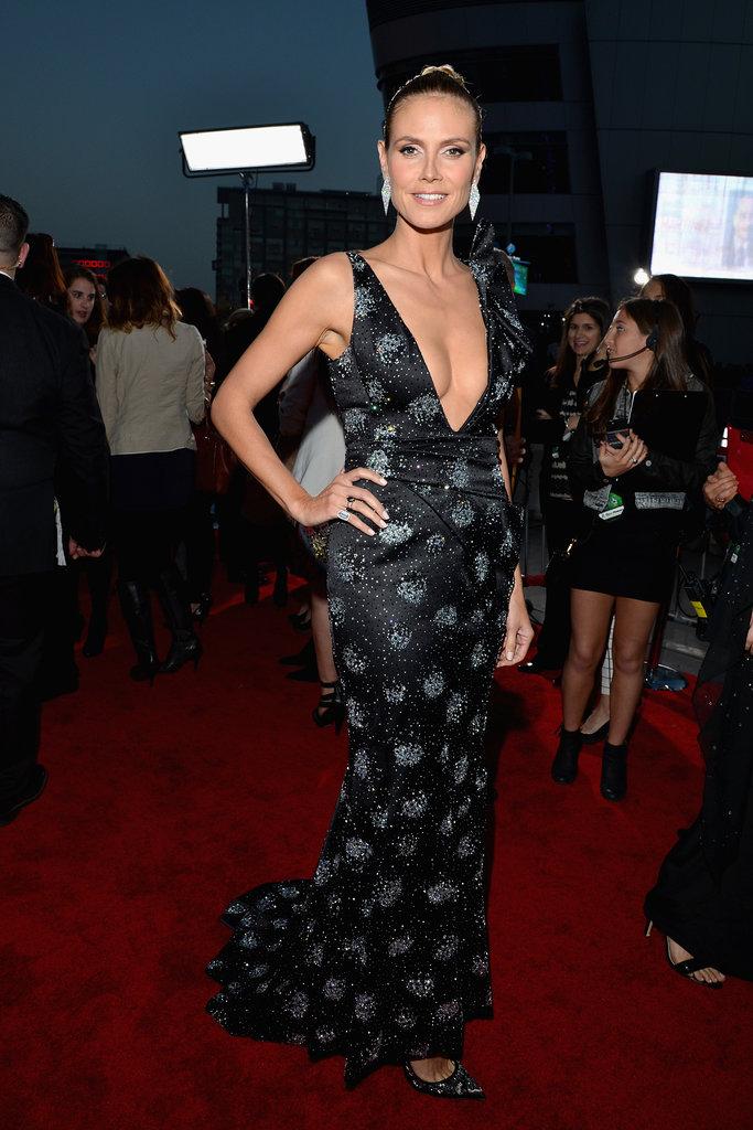 Heidi Klum at the People's Choice Awards 2014
