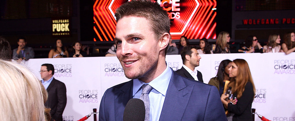 Stephen Amell Talks His First Christmas as a Dad — We Dare You Not to Melt