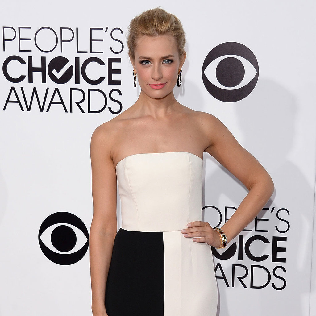 Black and White Trend at People's Choice Awards 2014