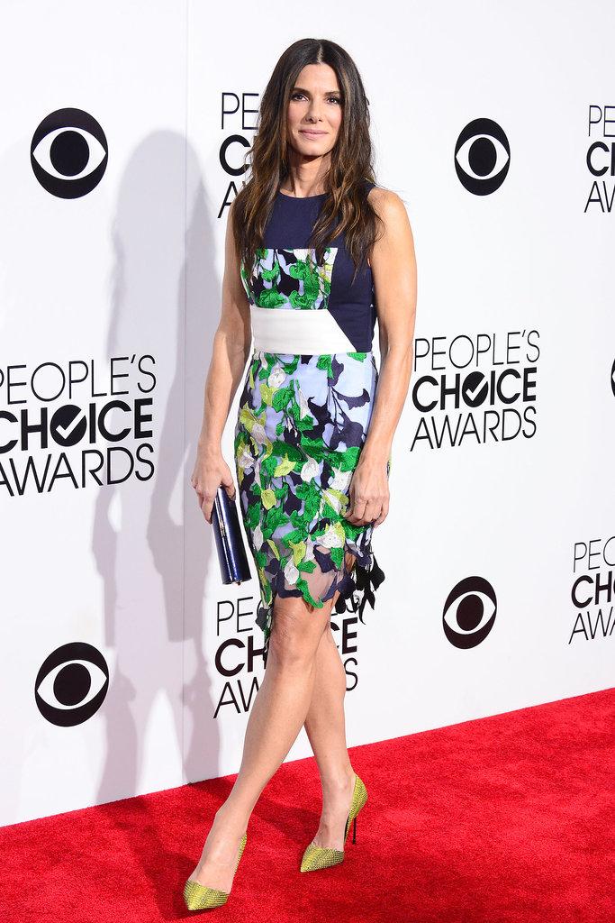 Sandra Bullock at the People's Choice Awards 2014