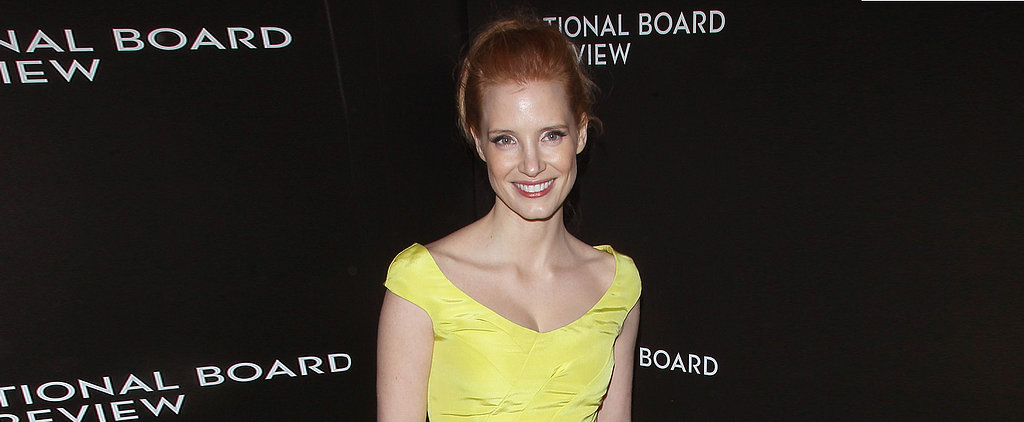 Is Jessica Chastain Wearing the Color of Award Season?