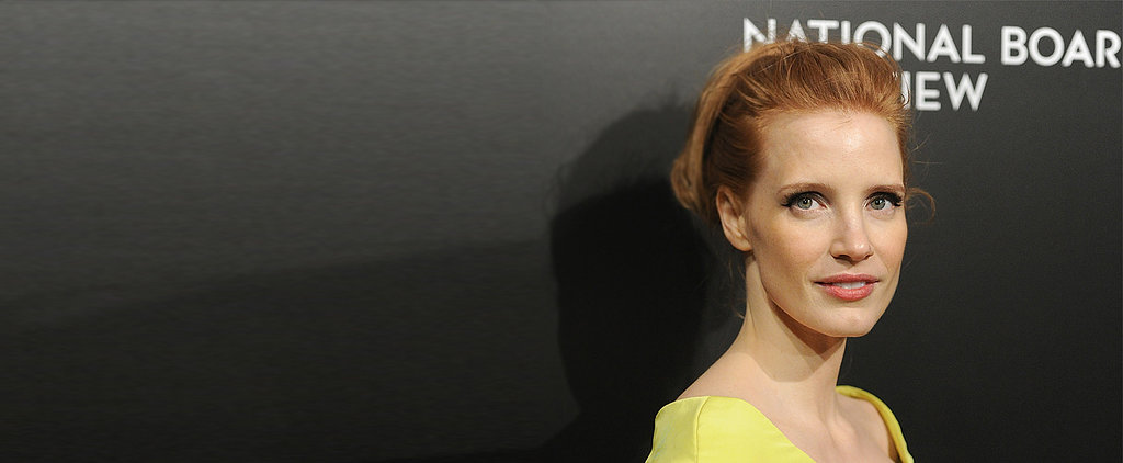 Jessica Chastain's Ponytail Is So Easy Your Boyfriend Could Do It