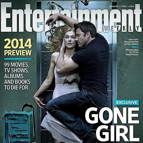 Gone Girl Movie on Entertainment Weekly Cover