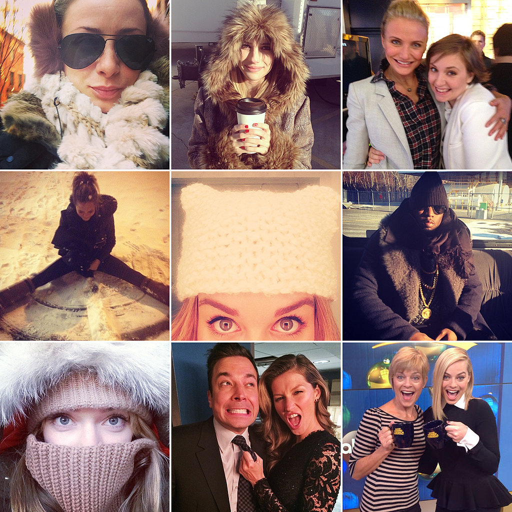 On the Beach or Bundled Up: This Week's Cutest Celebrity Candids