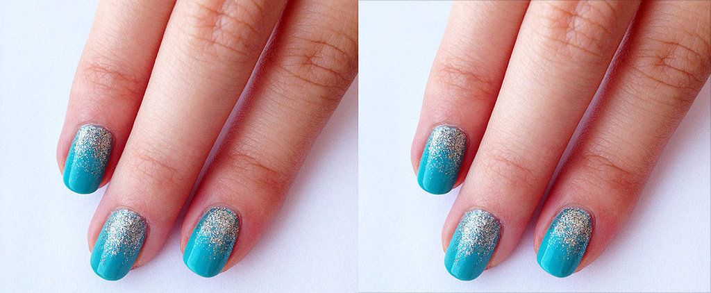 Impress Your Friends With This 3-Step Glitter Manicure
