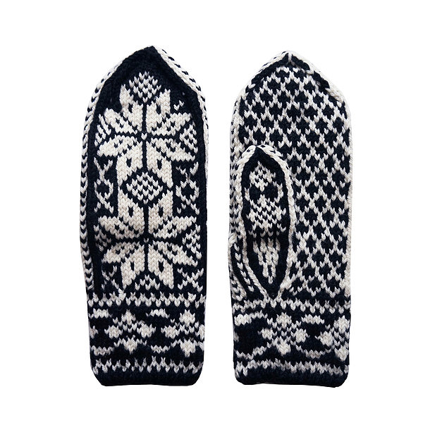 Fab Snowflake Mittens