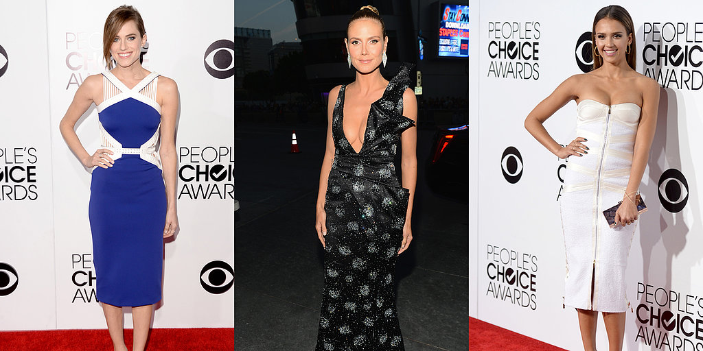 See Who Wore What To The People's Choice Awards
