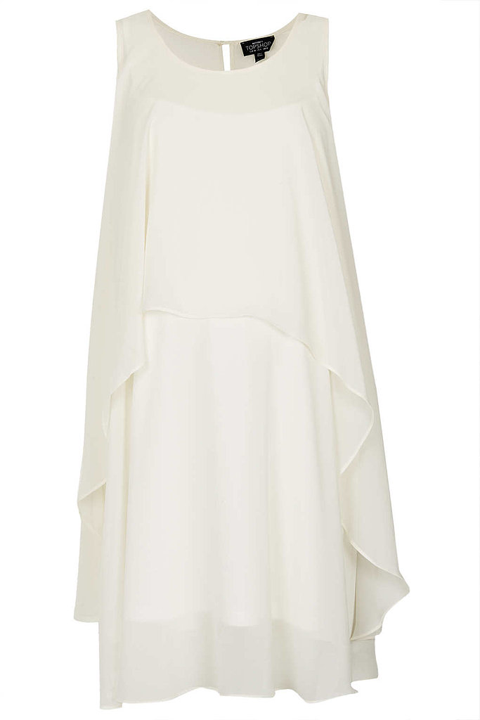 Topshop Waterfall Trapeze Dress