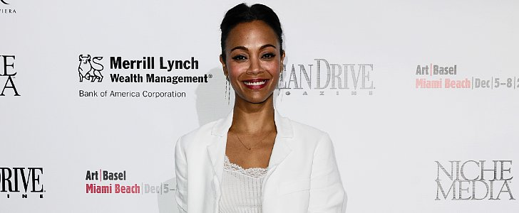 "Zoe Saldana Has Big ""Baby"" News — but It's Not What You Think"