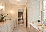 A peek into the master bathroom. Source: Douglas Elliman Real Estate