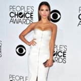 Jessica Alba's White Dress at People's Choice Awards 2014