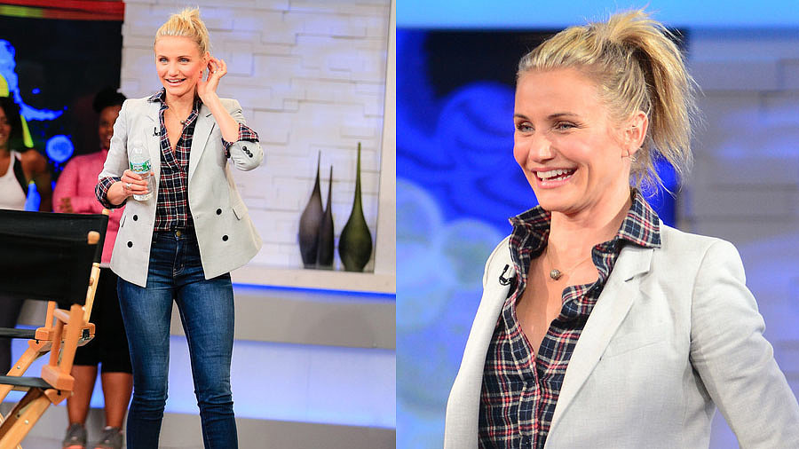 Cameron Diaz Nails the Perfect 24/7 Outfit