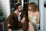 Jake Johnson and Zoe Kazan costar.