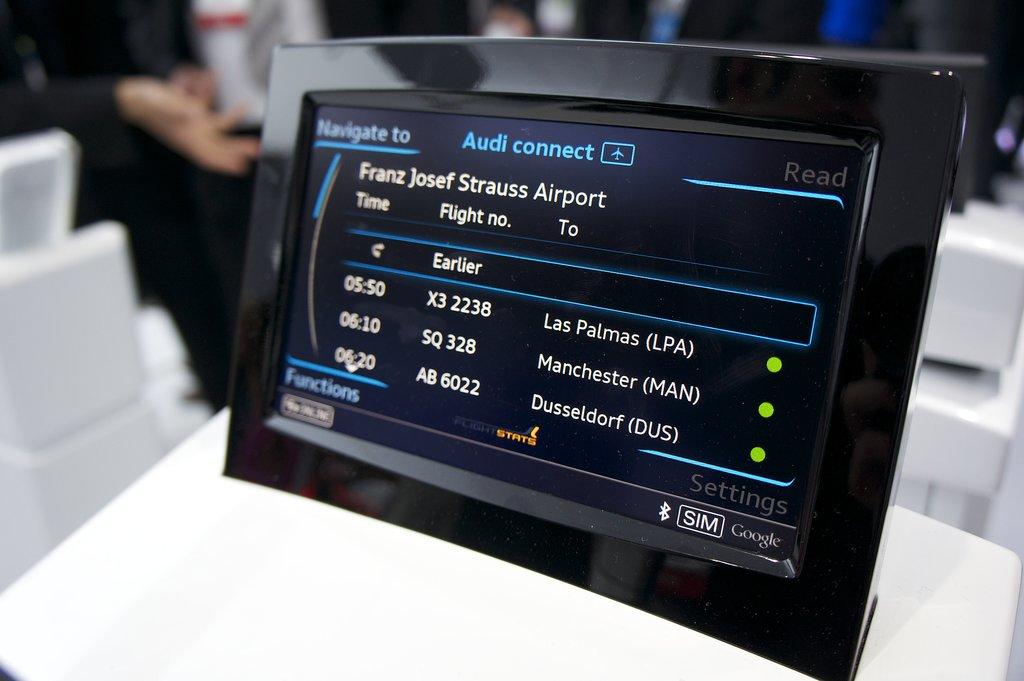 Audi — Smart Infotainment