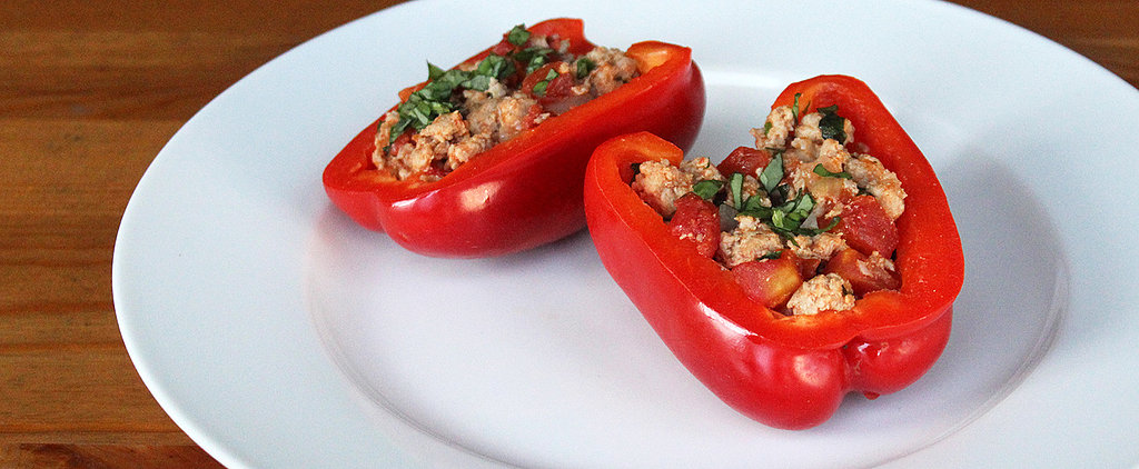 A High-Protein, 285-Calorie Supper: Paleo Stuffed Peppers