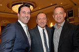 Boys' club! Jon Hamm, Kevin Spacey, and Tom Hanks got together at the event.
