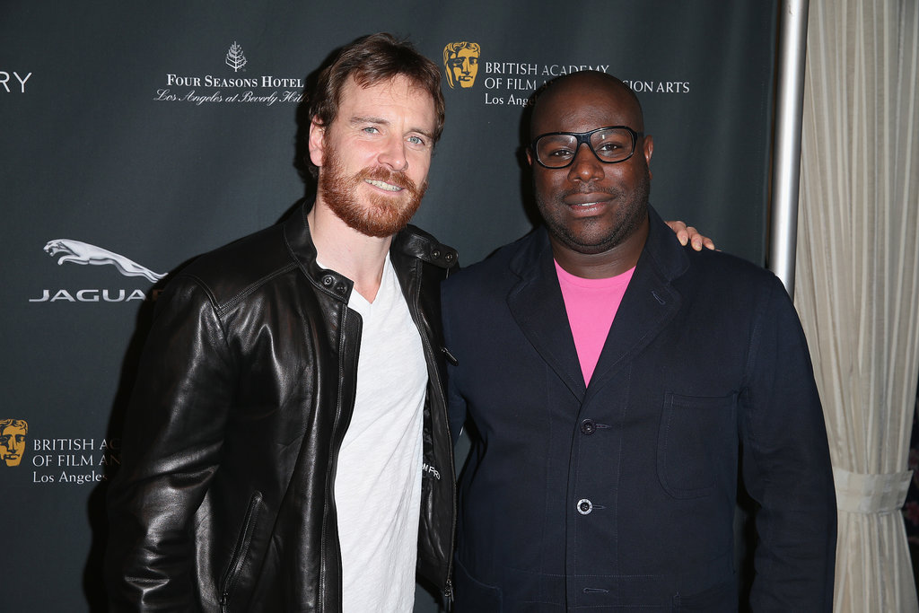 Michael Fassbender arrived with Steve McQueen, who directed him in 12 Years a Slave