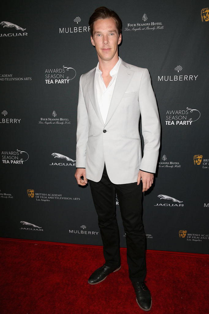 Benedict Cumberbatch went with a dressy-casual look.