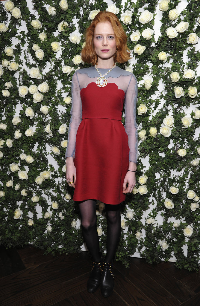 Jessica Joffe at W Magazine's Golden Globes Luncheon