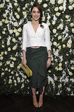 Greta Gerwig at W Magazine's Golden Globes Luncheon