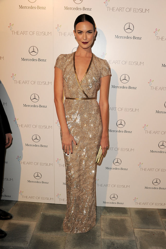 Odette Annable at the Art of Elysium Heaven Gala 2014